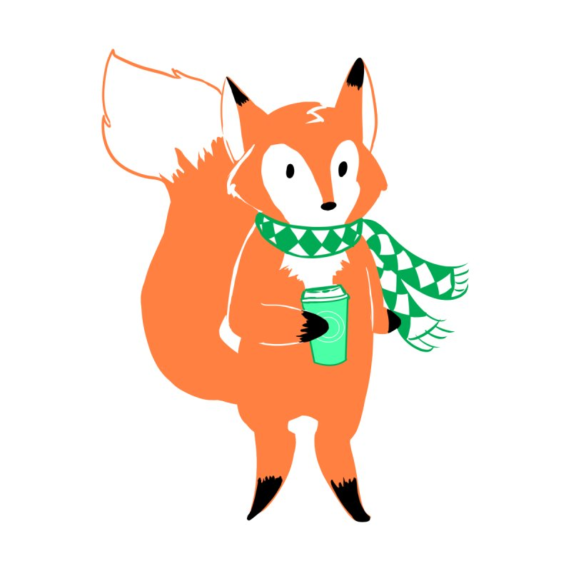 Holiday Like a Fox Accessories Bag by ArtemisStudios's Artist Shop