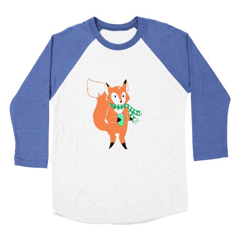 Holiday Like a Fox Women's Longsleeve T-Shirt by ArtemisStudios's Artist Shop