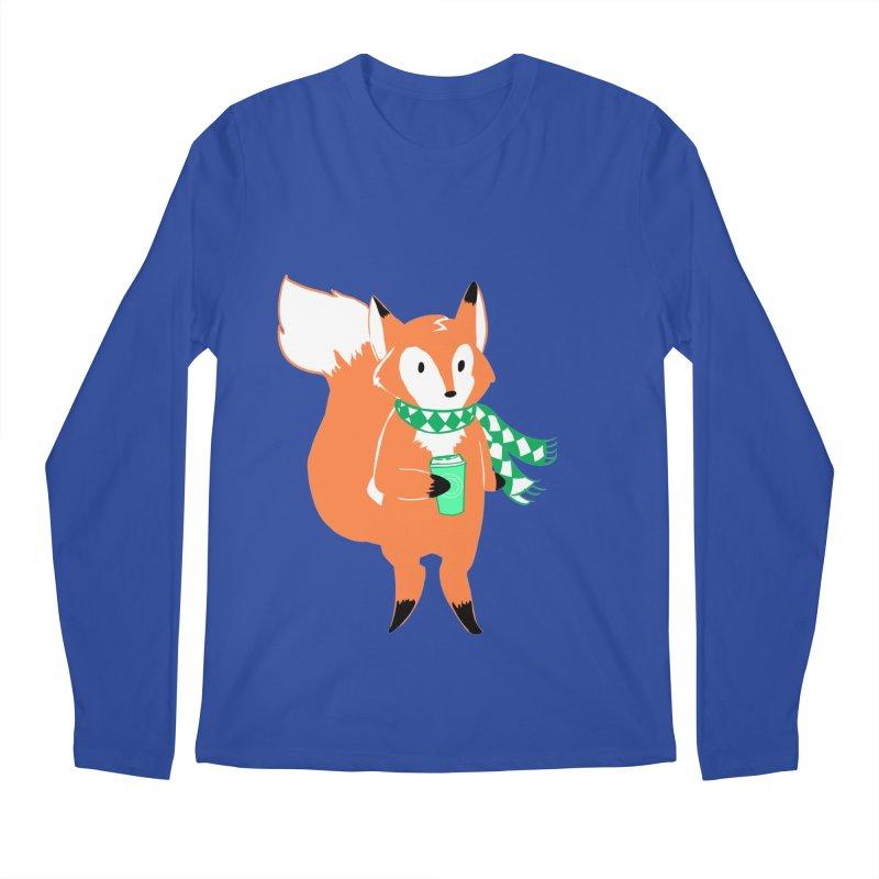 Holiday Like a Fox Men's Longsleeve T-Shirt by ArtemisStudios's Artist Shop