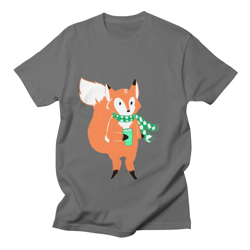 Holiday Like a Fox Men's T-Shirt by ArtemisStudios's Artist Shop