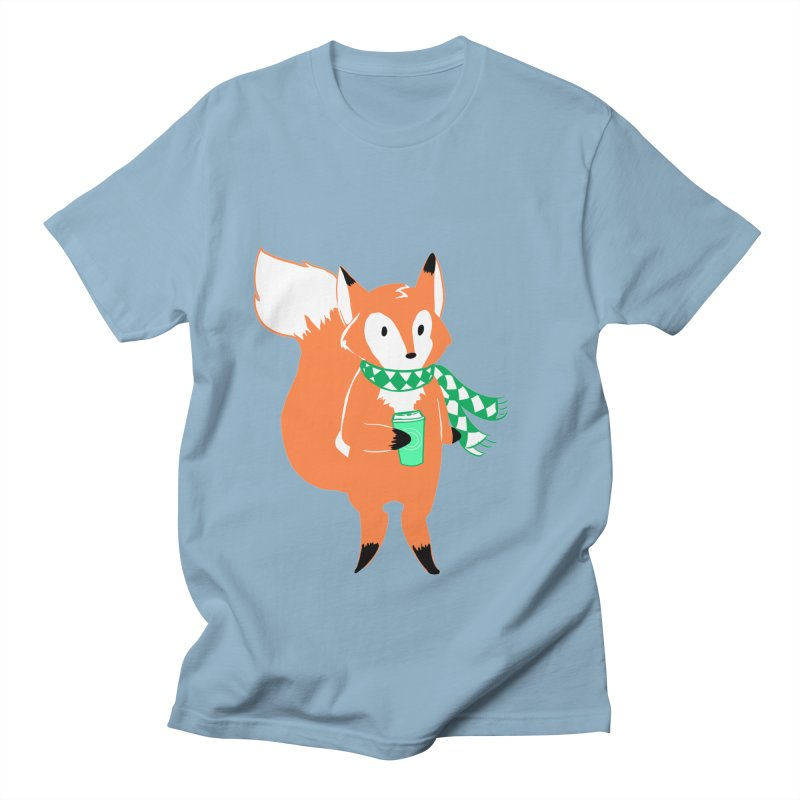 Holiday Like a Fox Women's Unisex T-Shirt by ArtemisStudios's Artist Shop