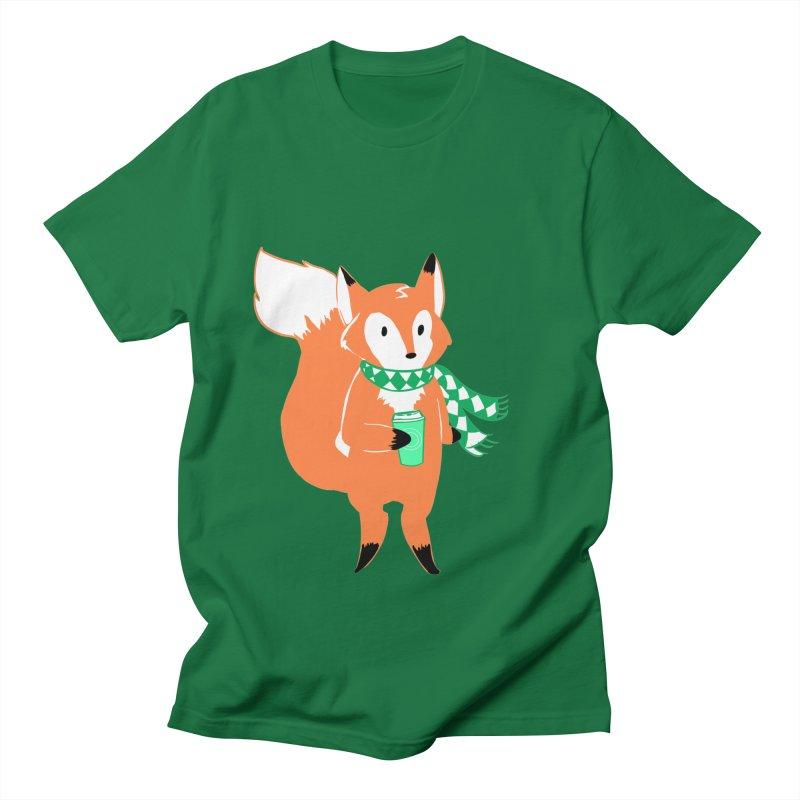 Holiday Like a Fox Women's Regular Unisex T-Shirt by ArtemisStudios's Artist Shop