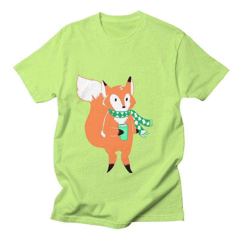 Holiday Like a Fox Men's T-Shirt by ArtemisStudios's Artist Shop