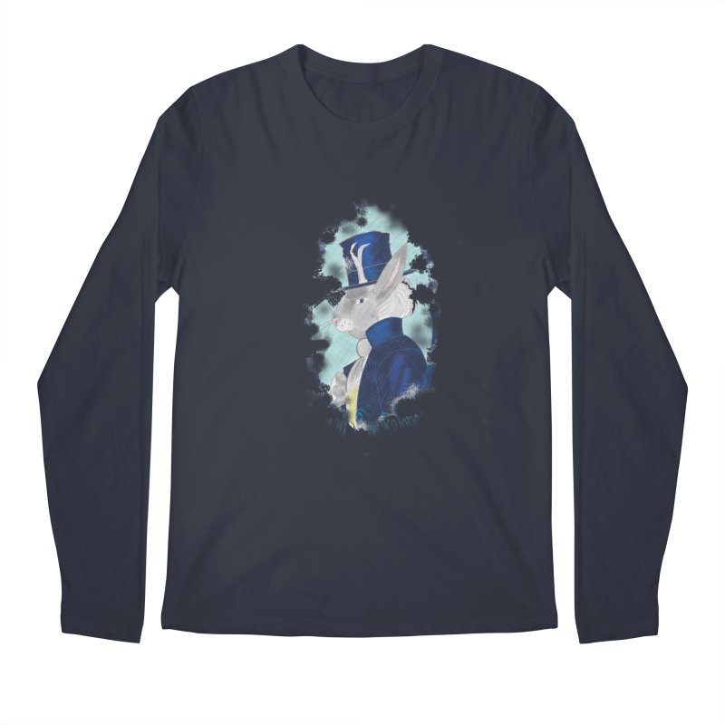 Lord Jackalope Men's Regular Longsleeve T-Shirt by ArtemisStudios's Artist Shop