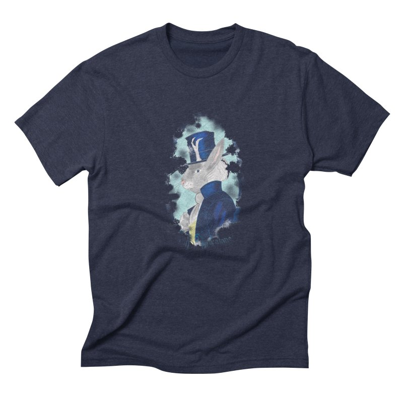 Lord Jackalope Men's Triblend T-Shirt by ArtemisStudios's Artist Shop