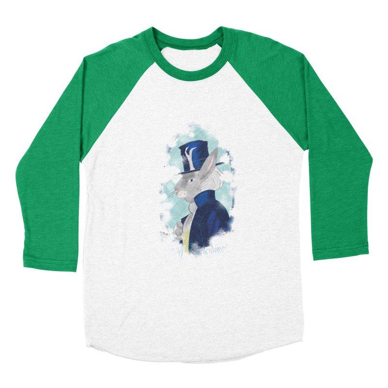 Lord Jackalope Women's Baseball Triblend Longsleeve T-Shirt by ArtemisStudios's Artist Shop