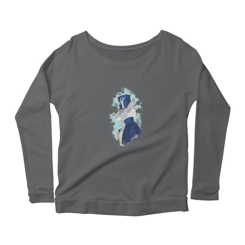 Lord Jackalope Women's Scoop Neck Longsleeve T-Shirt by ArtemisStudios's Artist Shop