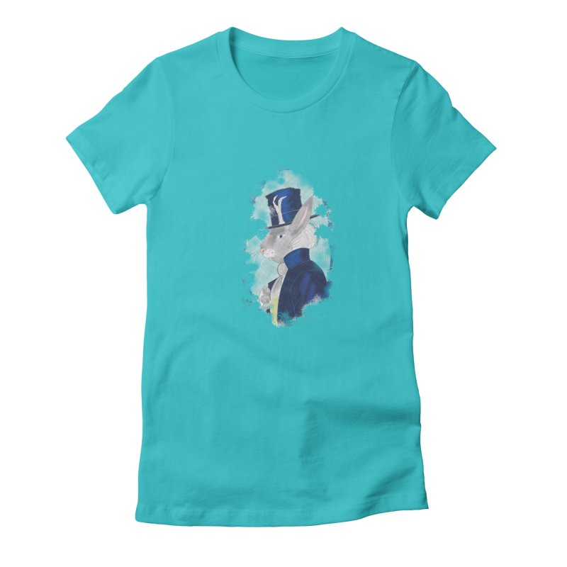 Lord Jackalope Women's Fitted T-Shirt by ArtemisStudios's Artist Shop