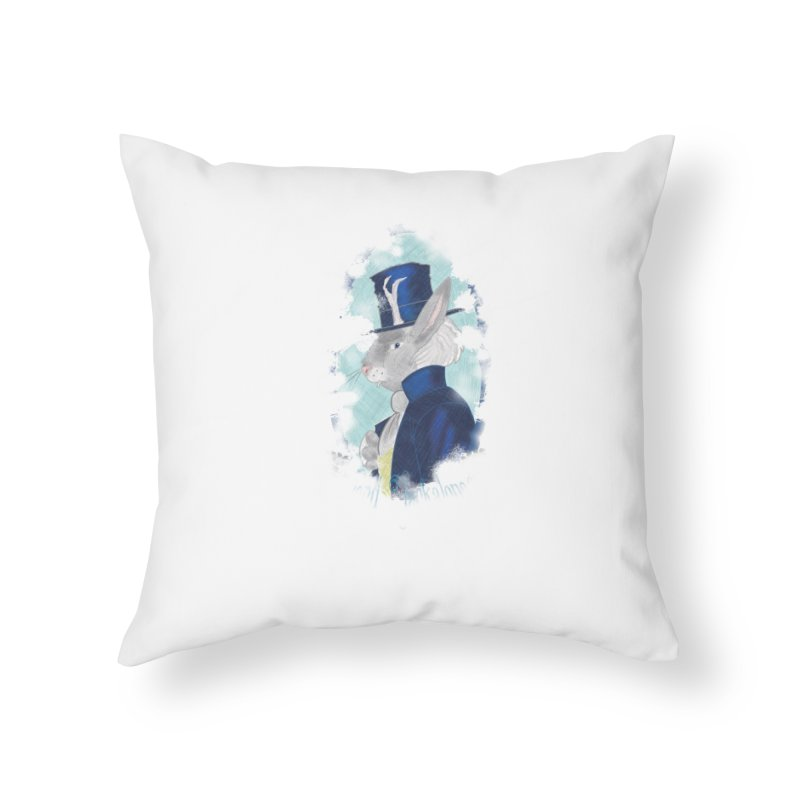 Lord Jackalope Home Throw Pillow by ArtemisStudios's Artist Shop
