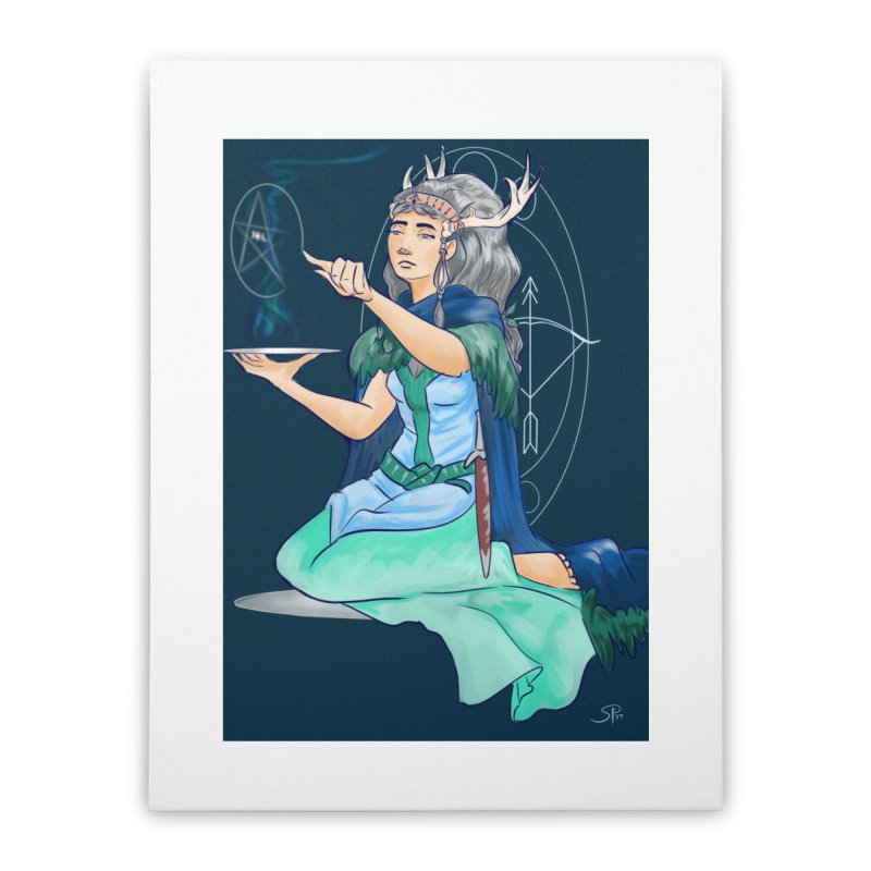 Artemis Home Stretched Canvas by ArtemisStudios's Artist Shop