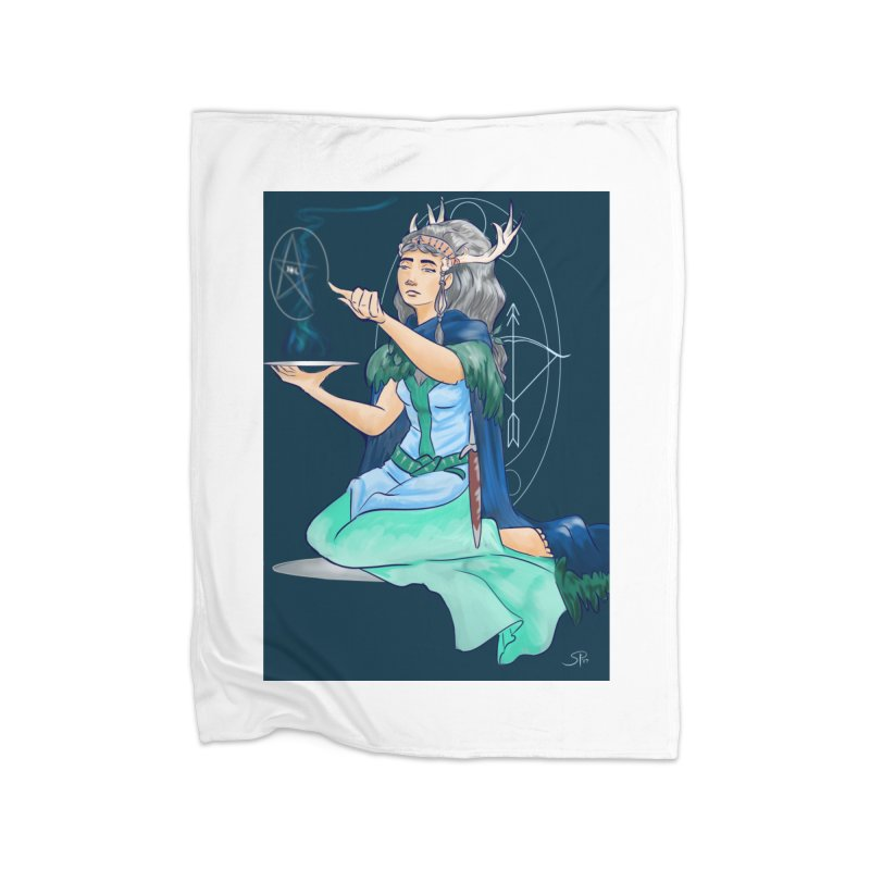 Artemis Home Fleece Blanket Blanket by ArtemisStudios's Artist Shop