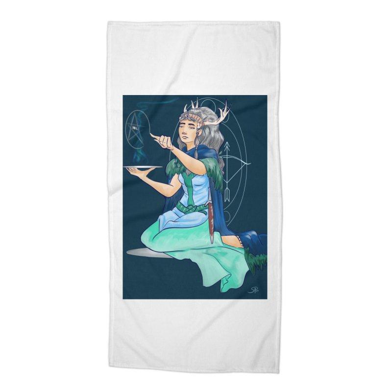 Artemis Accessories Beach Towel by ArtemisStudios's Artist Shop