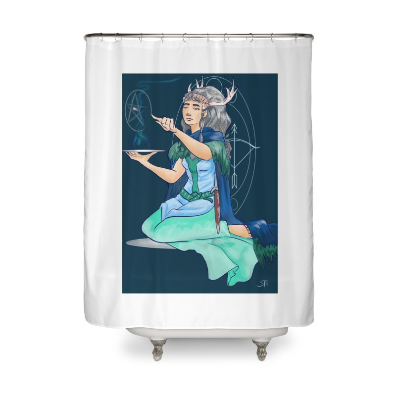 Artemis Home Shower Curtain by ArtemisStudios's Artist Shop