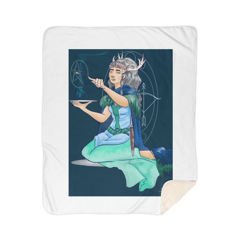 Artemis Home Sherpa Blanket Blanket by ArtemisStudios's Artist Shop