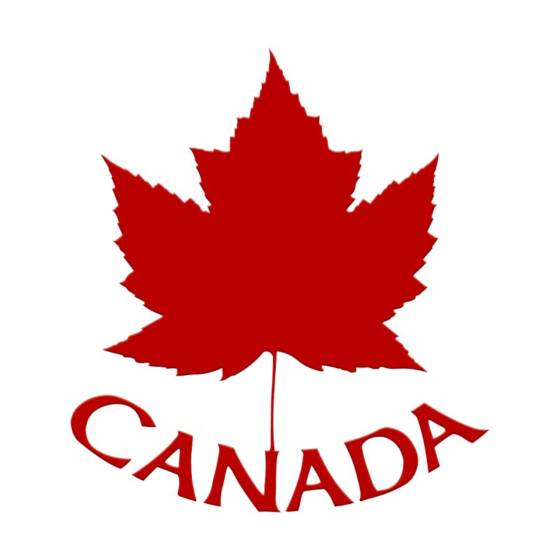 Canada Maple Leaf Souvenir Women's Tank by Artist Designer Kim Hunter's Threadless Shop