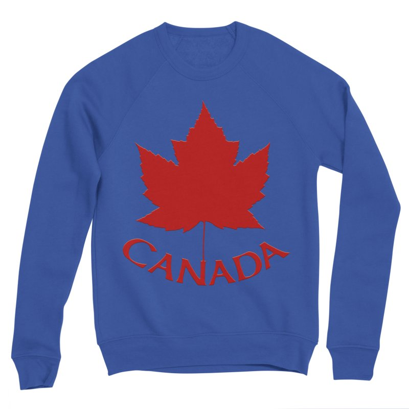 Canada Maple Leaf Souvenir Women's Sweatshirt by Artist Designer Kim Hunter's Threadless Shop