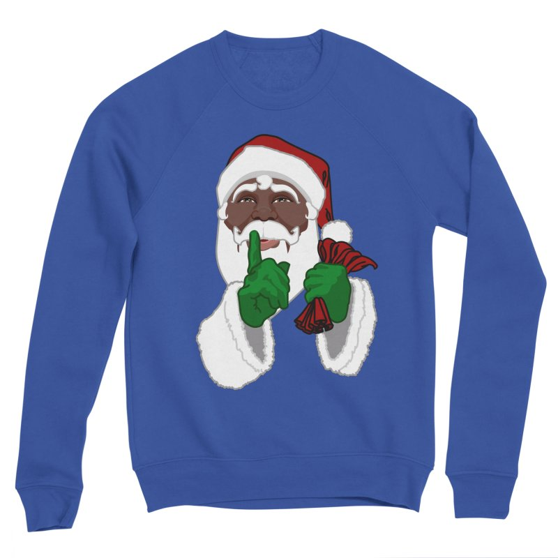 African Santa Women's Sweatshirt by Artist Designer Kim Hunter's Threadless Shop