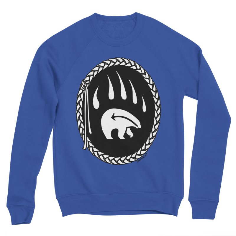 Tribal Bear Claw Art Women's Sweatshirt by Artist Designer Kim Hunter's Threadless Shop
