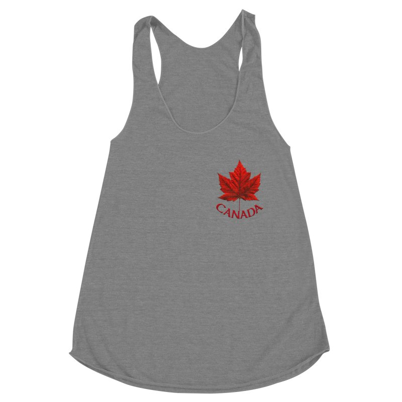 Canada Maple Leaf Souvenirs Women's Tank by Artist Designer Kim Hunter's Threadless Shop