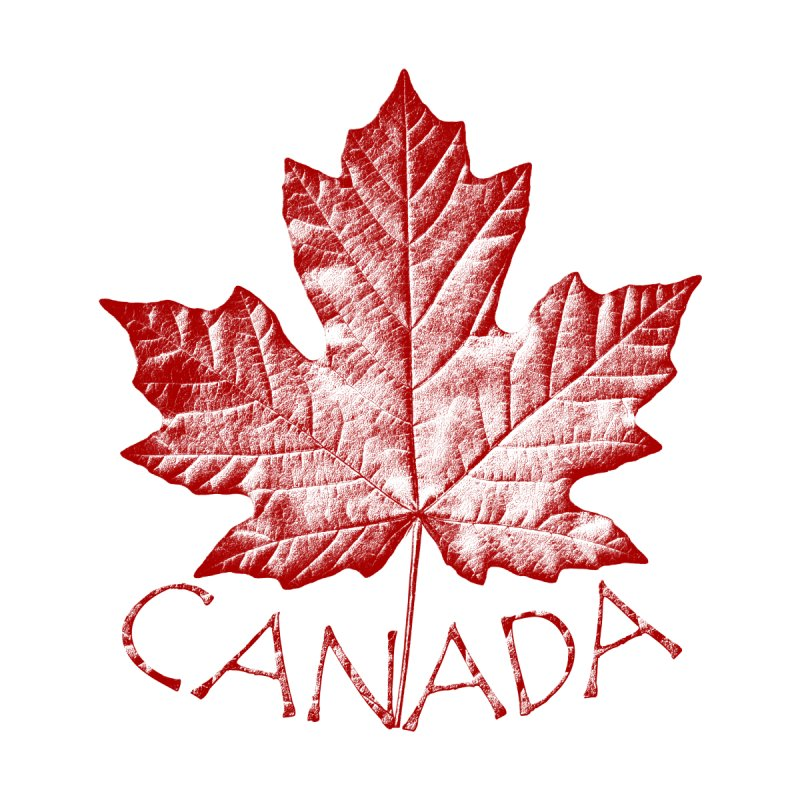 Canada Retro Maple Leaf Souvenir by Artist Designer Kim Hunter's Threadless Shop