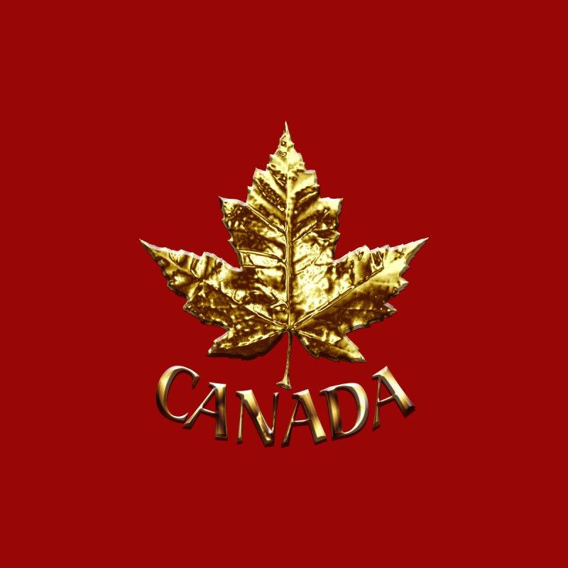 Canada Souvenir Sporty Gold Medal by Artist Designer Kim Hunter's Threadless Shop