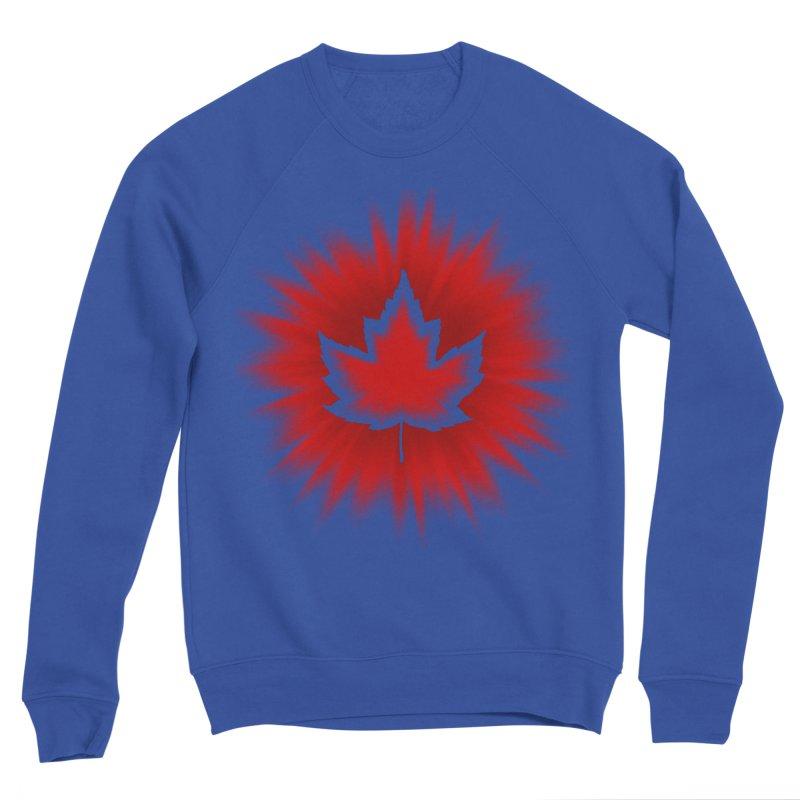 Canada Maple Leaf Souvenir Women's Sweatshirt by Artist Designer Kim Hunter's Threadless Shop