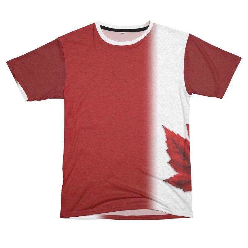 Canada Flag Souvenirs Women's Cut & Sew by Artist Designer Kim Hunter's Threadless Shop