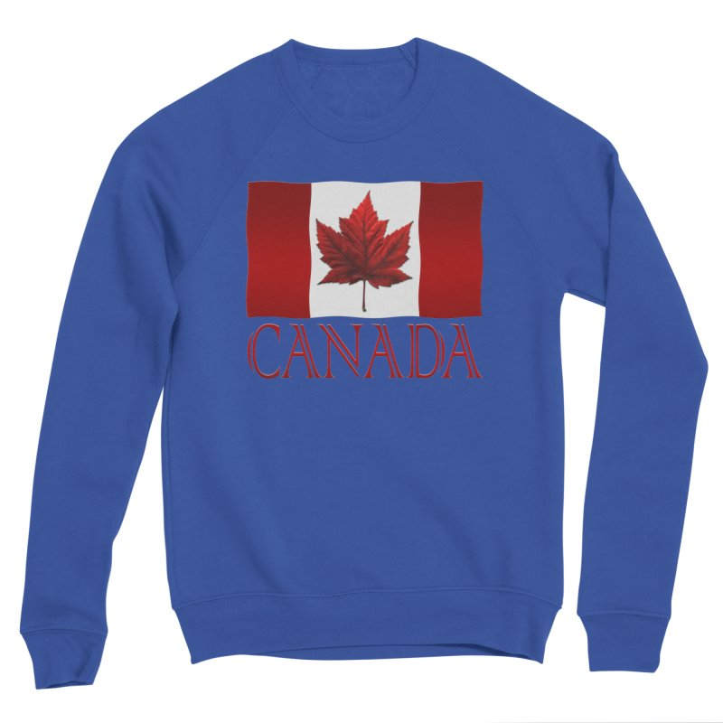 Canada Flag Souvenirs Women's Sweatshirt by Artist Designer Kim Hunter's Threadless Shop
