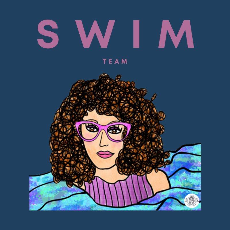 Swim Team Women's T-Shirt by Emily Lupita's Artist Shop