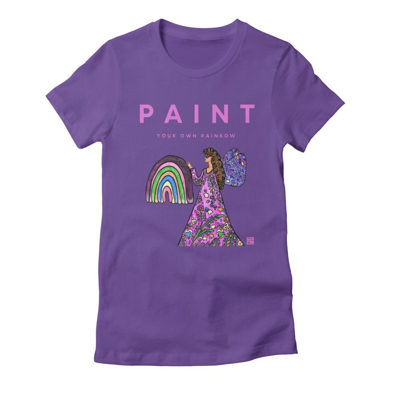 Paint Your Own Rainbow Women's T-Shirt by Emily Lupita's Artist Shop