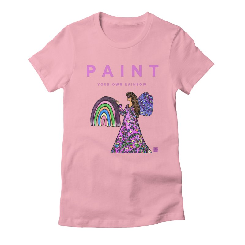Paint Your Own Rainbow Women's T-Shirt by Artist Emily Lupita's Shop