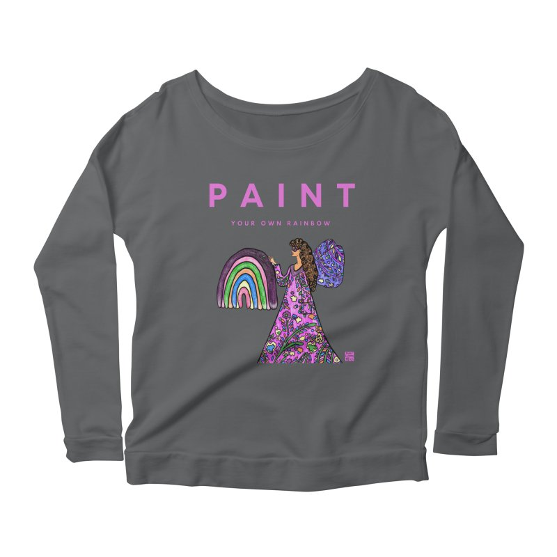 Paint Your Own Rainbow Women's Longsleeve T-Shirt by Artist Emily Lupita's Shop