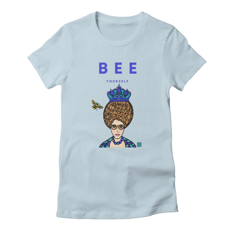 Bee Yourself Women's T-Shirt by Emily Lupita's Artist Shop