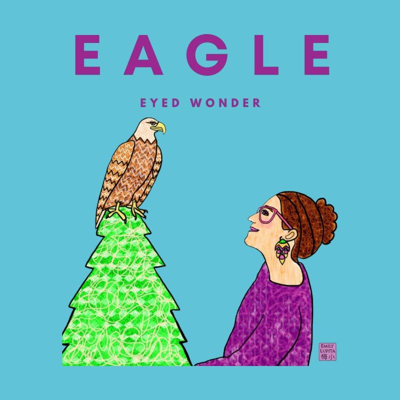 Eagle Eyed Wonder Women's Sweatshirt by Artist Emily Lupita's Shop