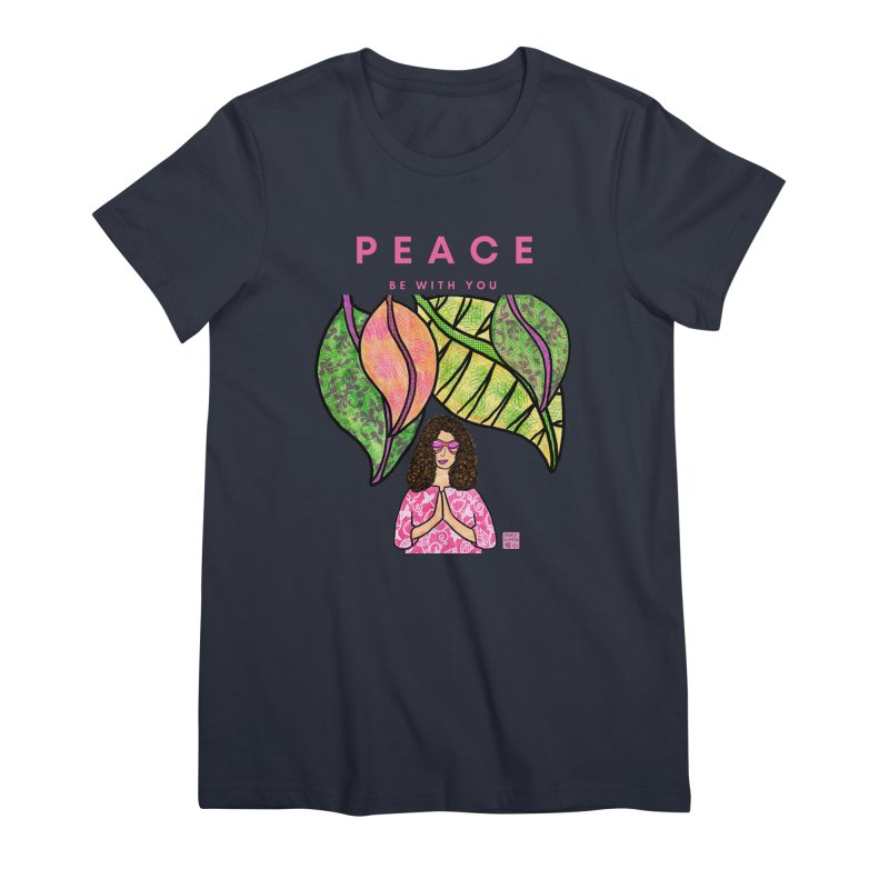 Peace Be With You Women's T-Shirt by Artist Emily Lupita's Shop
