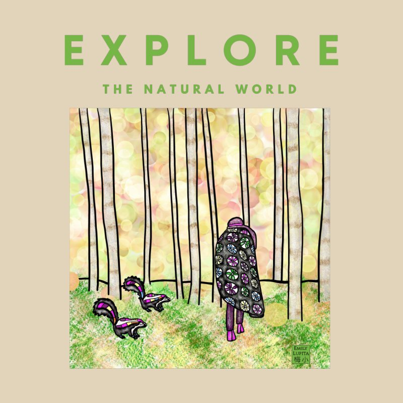 Explore the Natural World Accessories Bag by Artist Emily Lupita's Shop
