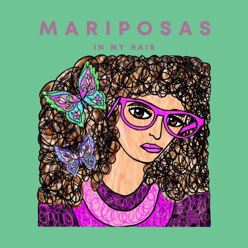 Mariposas in my Hair Women's T-Shirt by Emily Lupita's Artist Shop
