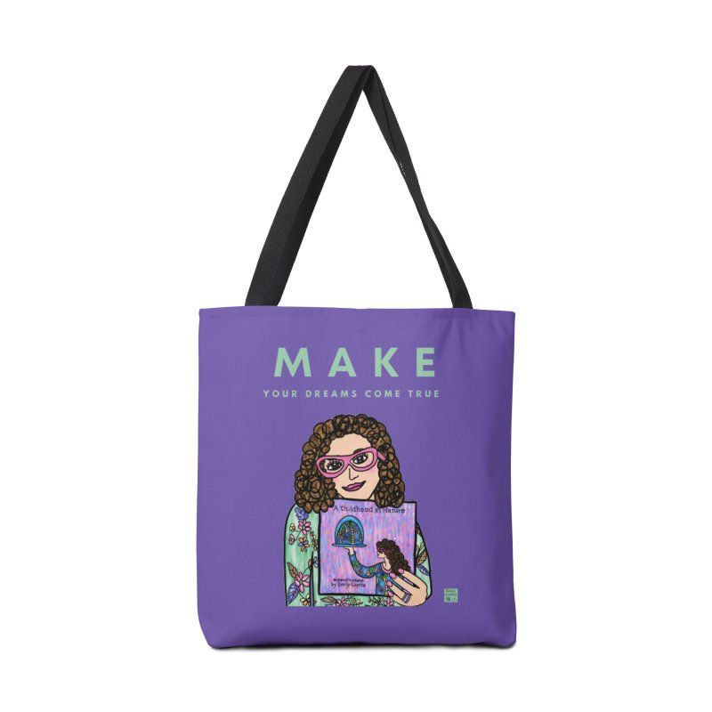 Make Your Dreams Come True Accessories Bag by Artist Emily Lupita's Shop