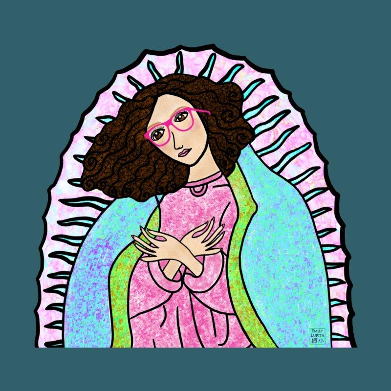 Guadalupe Series- Lupita Watches the Sunrise Women's T-Shirt by Artist Emily Lupita's Shop