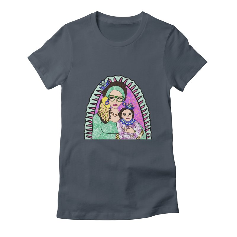 Guadalupe Series - Oh, Holy Night Women's T-Shirt by Artist Emily Lupita's Shop