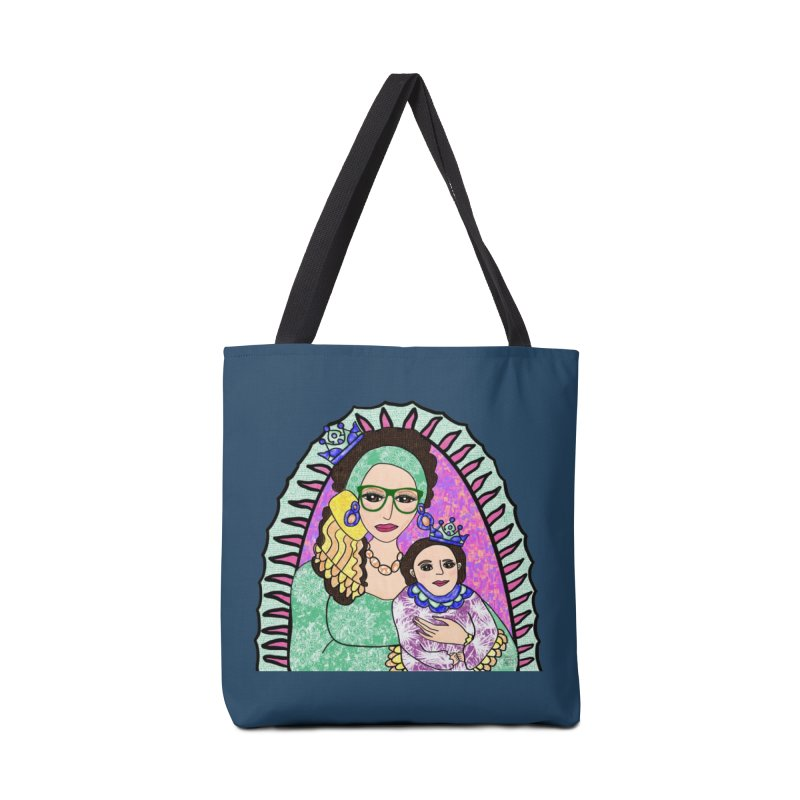 Guadalupe Series - Oh, Holy Night Accessories Bag by Artist Emily Lupita's Shop