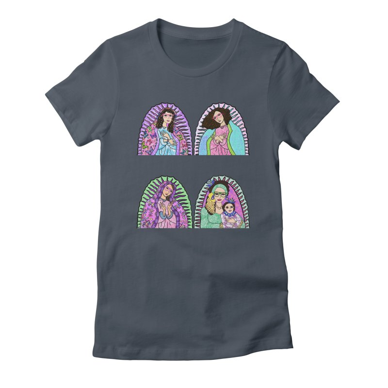 Guadalupe Series - 3 Wise Grandmothers Women's T-Shirt by Artist Emily Lupita's Shop