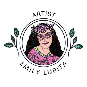 Artist Emily Lupita's Shop Logo