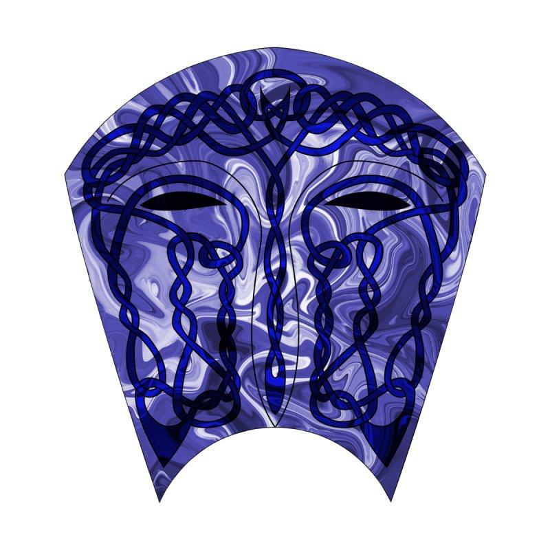 Celtic Mask Accessories Skateboard by Artistfire Studios