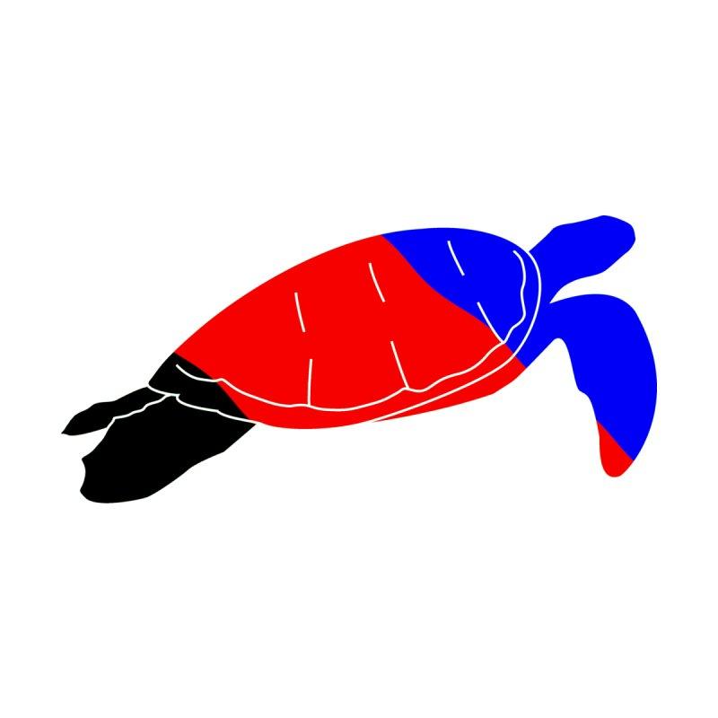 Polyamorous Pride Turtle Men's T-Shirt by Artistfire Studios