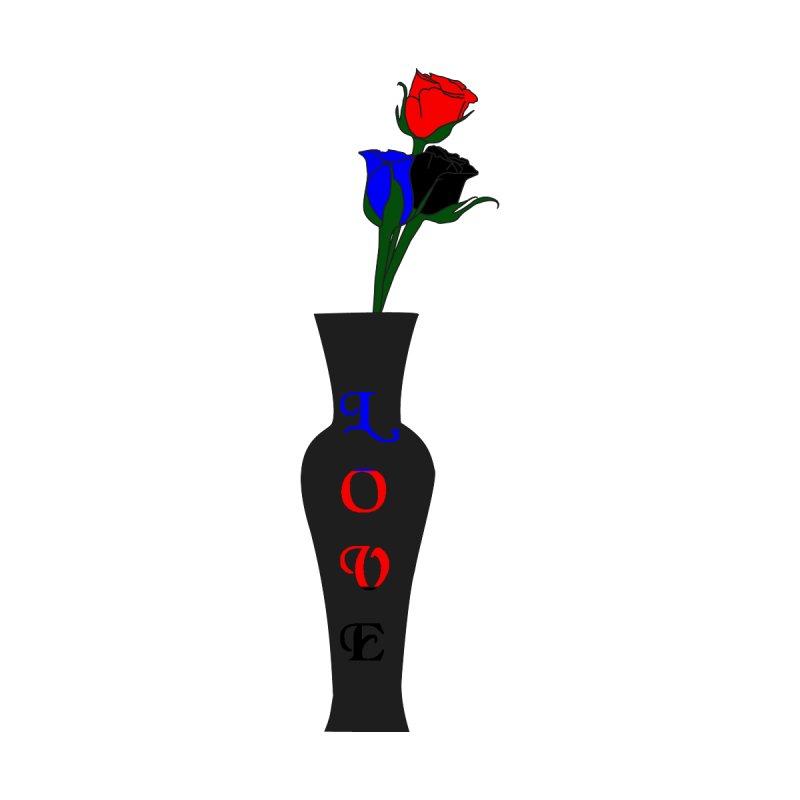 Polyamorous Pride Roses Men's T-Shirt by Artistfire Studios
