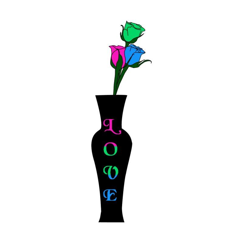 Polysexual Pride Roses Men's T-Shirt by Artistfire Studios