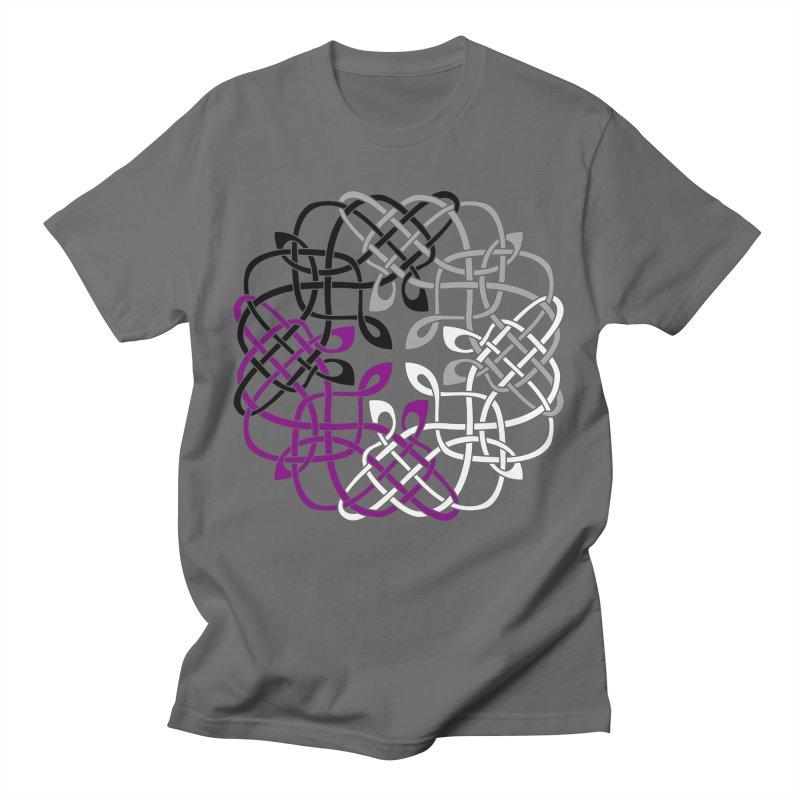 Asexual Pride Celtic Design Women's T-Shirt by Artistfire Studios