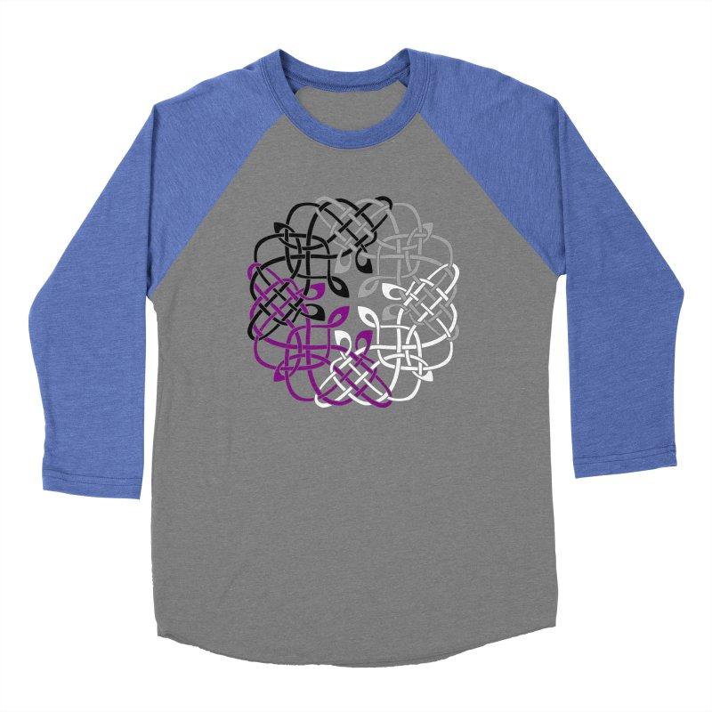 Asexual Pride Celtic Design Women's Longsleeve T-Shirt by Artistfire Studios