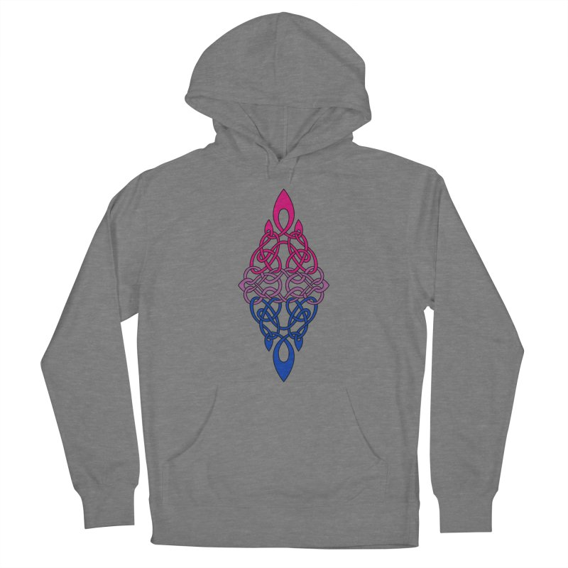 Bisexual Pride Celtic Diamond Women's Pullover Hoody by Artistfire Studios
